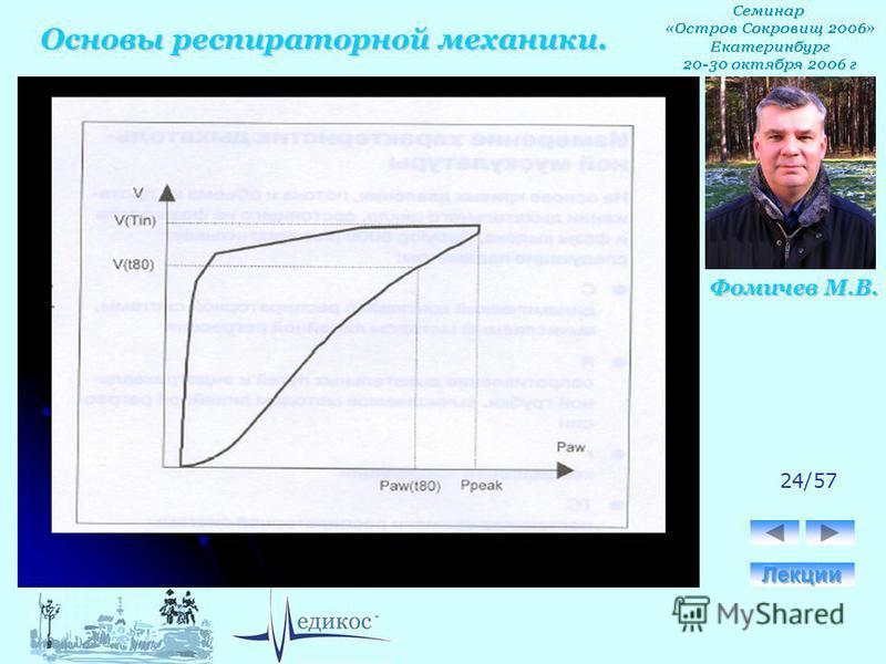 Основы респираторной механики. Фомичев М.В. 24/57