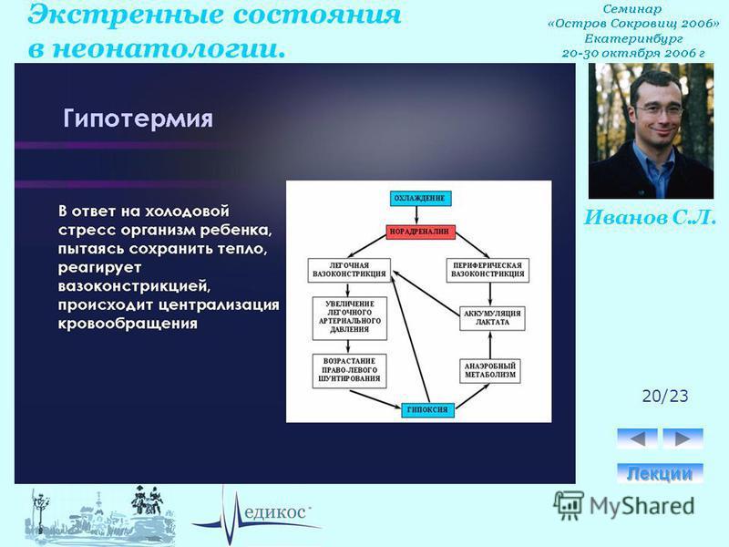Экстренные состояния в неонатологии. Иванов С.Л. 20/23