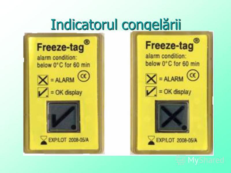 Indicatorul congelării