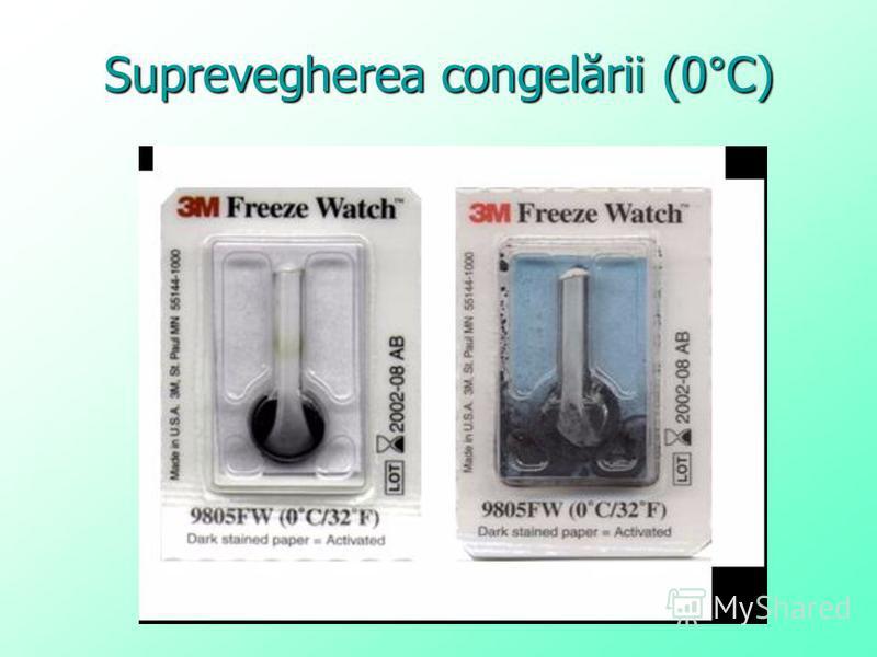 Suprevegherea congelării (0°C)