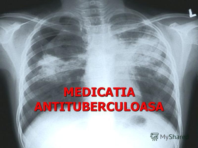 MEDICATIA ANTITUBERCULOASA