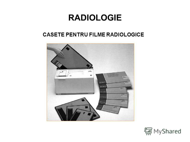 RADIOLOGIE CASETE PENTRU FILME RADIOLOGICE
