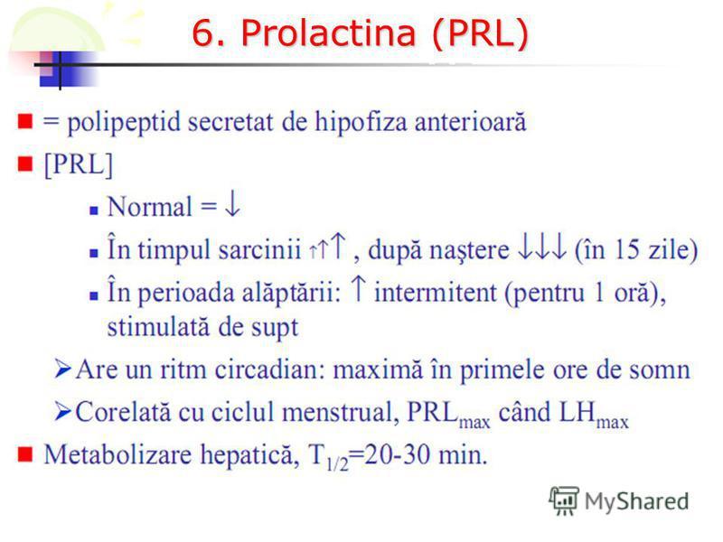 6. Prolactina (PRL)