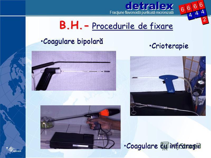 detralex 2 2 4 4 4 4 6 6 4 4 6 6 6 6 6 6 B.H.- Procedurile de fixare Coagulare bipolară Crioterapie Coagulare cu infraroşii Fracţiune flavonoidă purificată micronizată