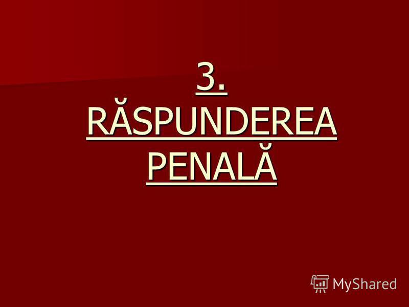 3. RĂSPUNDEREA PENALĂ