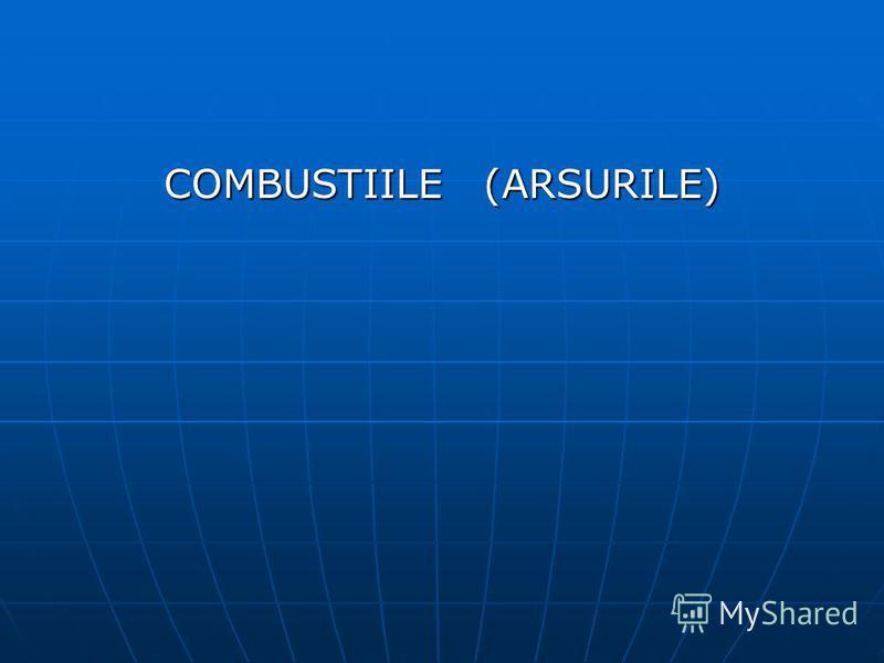 COMBUSTIILE (ARSURILE)