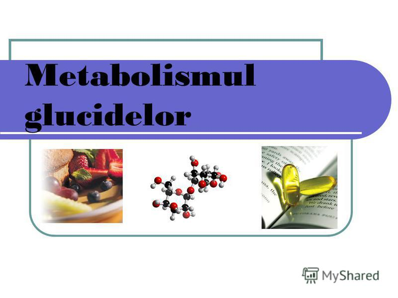 Metabolismul glucidelor
