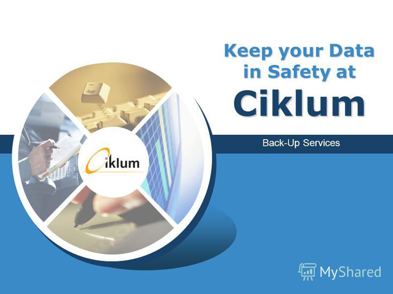 Back-Up Services Keep your Data in Safety at Ciklum