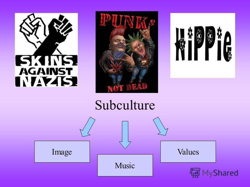 Subculture Image Music Values