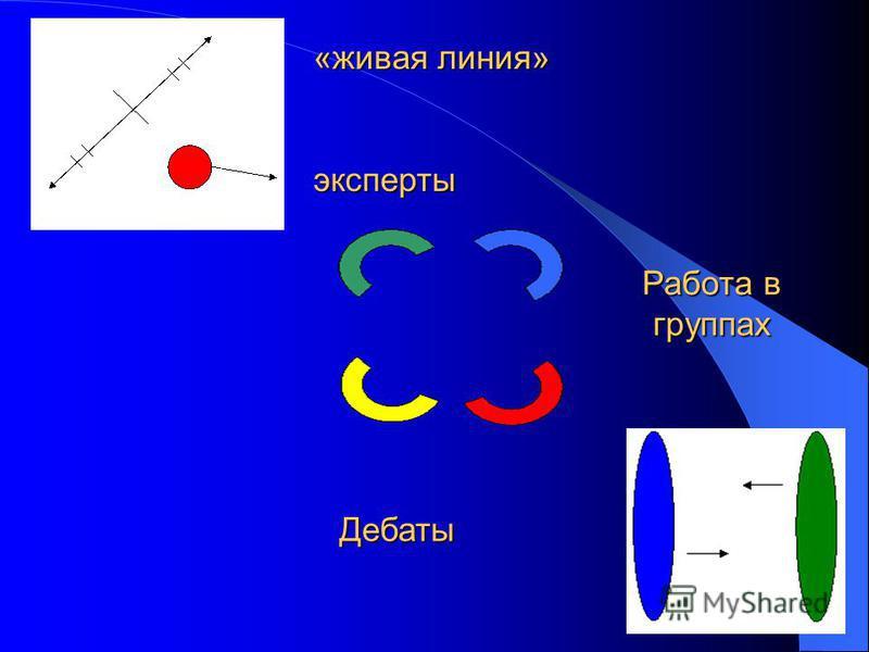 «живая линия» эксперты Дебаты Работа в группах