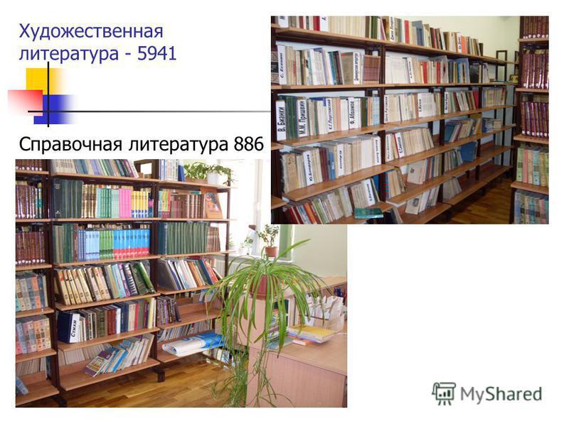Художественная литература - 5941 Справочная литература 886