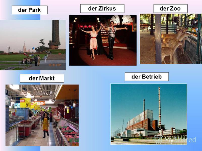 der Park der Markt der Betrieb der Zirkusder Zoo