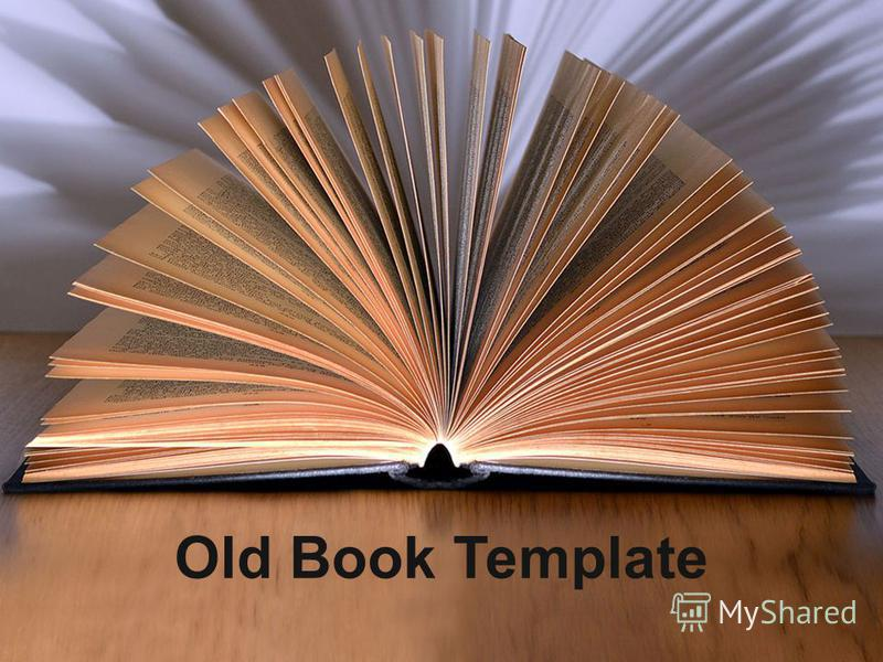Old Book Template