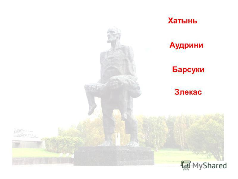 Хатынь Аудрини Барсуки Злекас