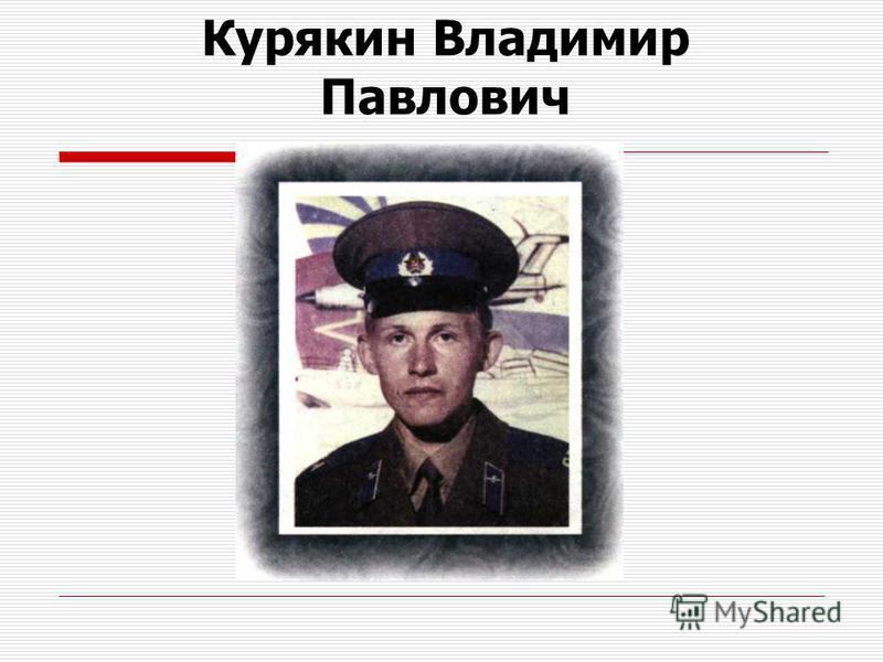 Курякин Владимир Павлович