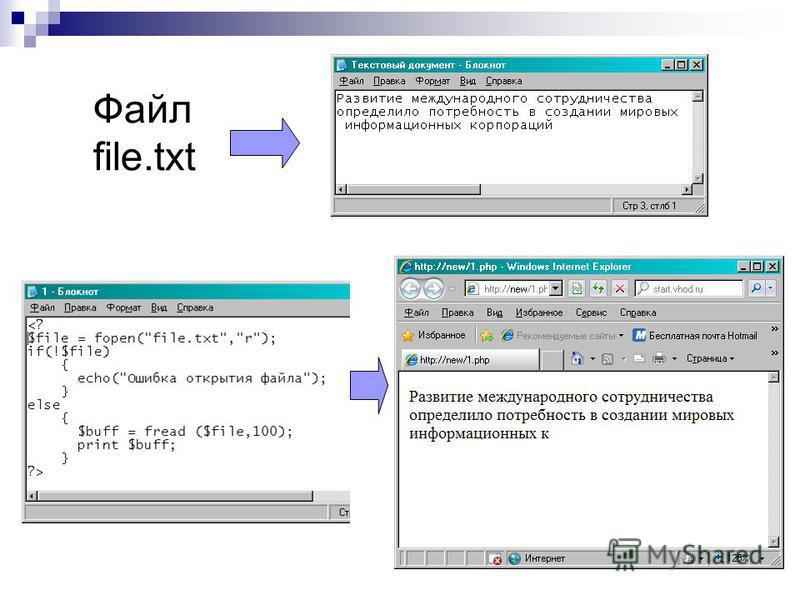 Файл file.txt
