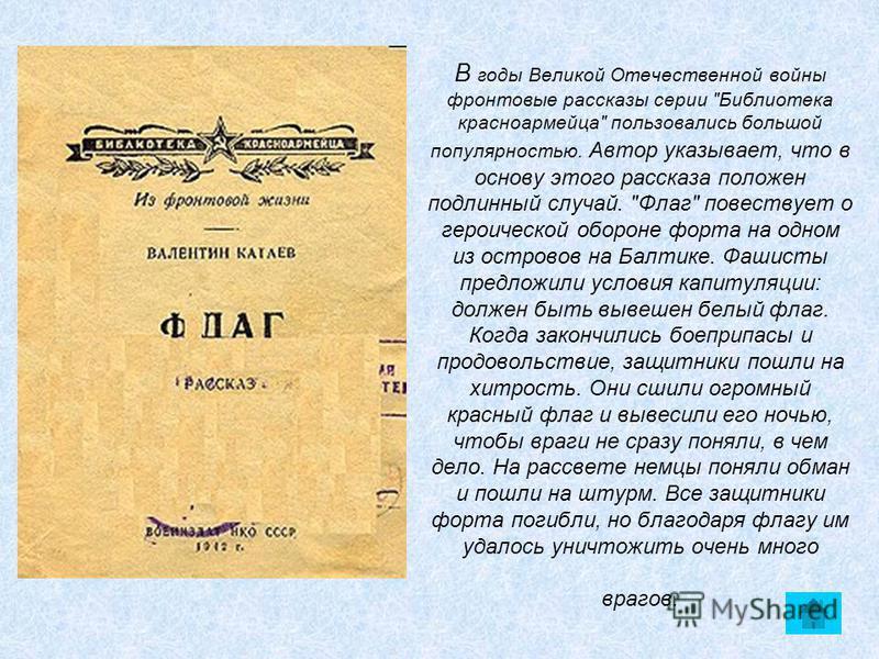 В годы Великой Отечественной войны фронтовые рассказы серии