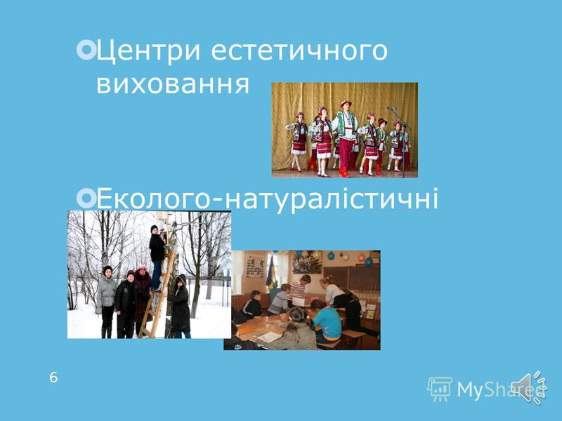 Здобуття практичних умінь та навичок Дитячі музичні школи Спортивні школи 5