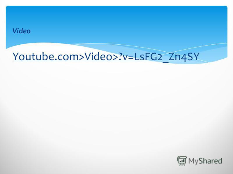 Video Youtube.com>Video>?v=LsFG2_Zn4SY