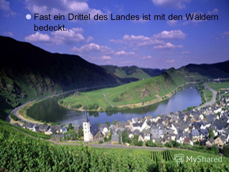 Der höchste Berg der BRD ist die Zugspitze(2962 m). Der gröβte Flüβ ist der Rhein. Die anderen groβen Flüsse sind die Elbe, die Weser, die Donau.