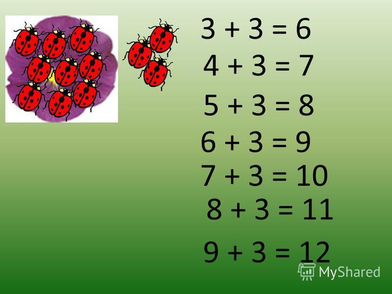 5 + 3 = 8 Ответ: 8