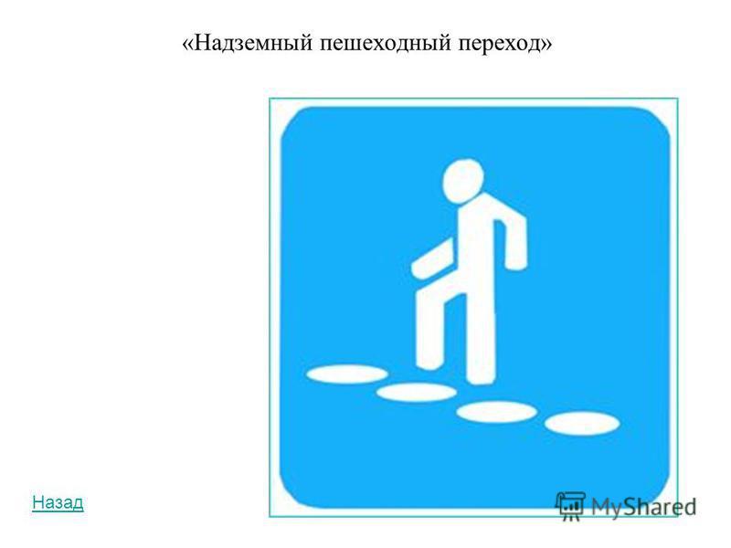 «Подземный пешеходный переход» Назад