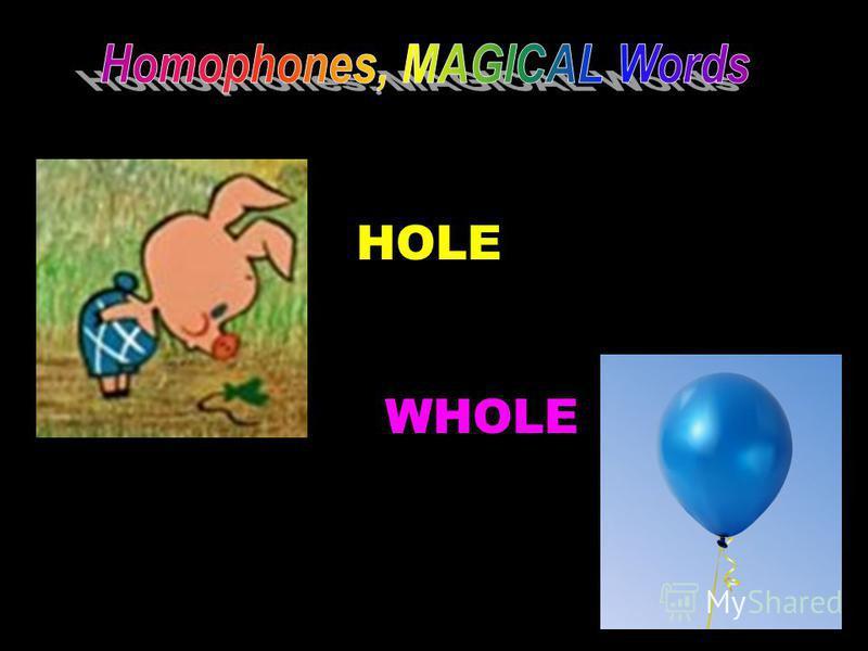 HOLE WHOLE