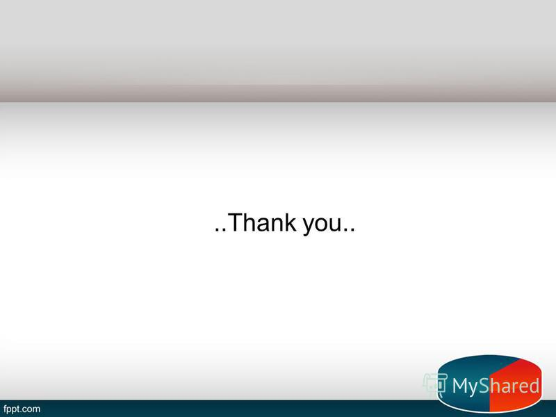 ..Thank you..