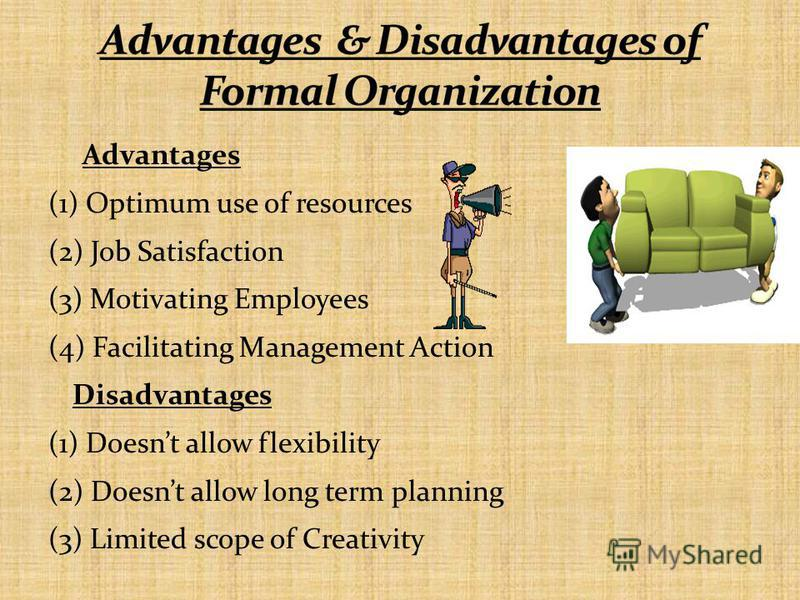 Advantages (1) Optimum use of resources (2) Job Satisfaction (3) Motivating Employees (4) Facilitating Management Action Disadvantages (1) Doesnt allow flexibility (2) Doesnt allow long term planning (3) Limited scope of Creativity