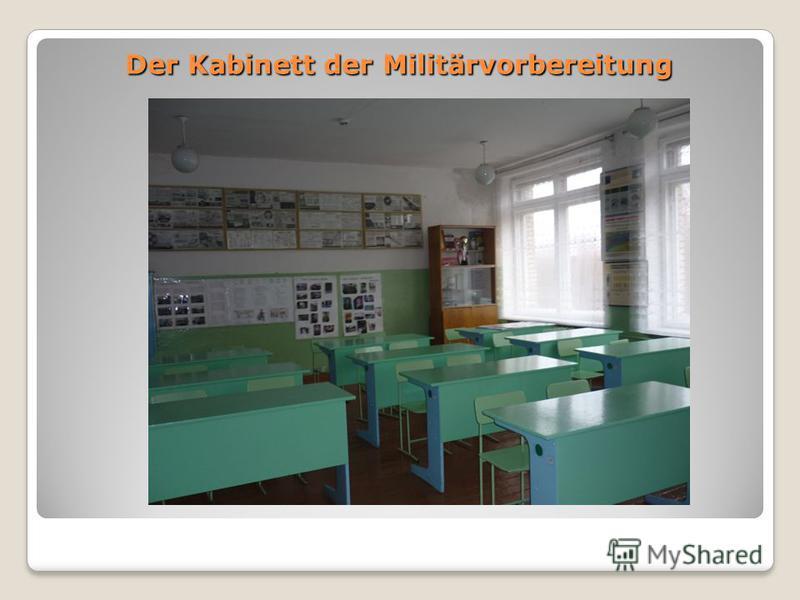 Der Kabinett der Militärvorbereitung