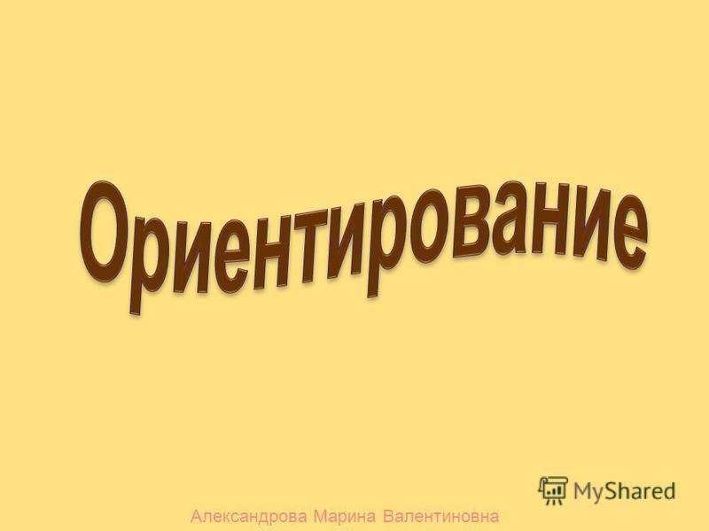 Александрова Марина Валентиновна