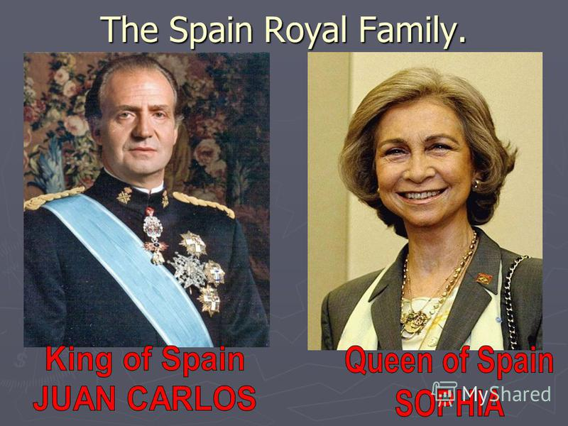 The Spain Royal Family.