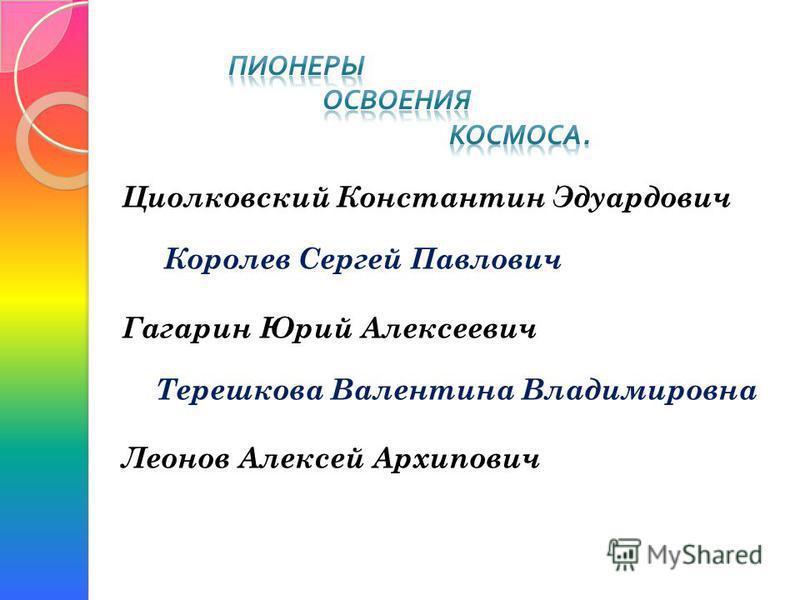 Для реализации идей Циолковского нужно было разработать конструкцию ракеты, подобрать необходимое топливо и решить тысячи других вопросов, прежде чем можно было бы приступить к космическим полетам. В 1932 г. под руководством Сергея Павловича Королева