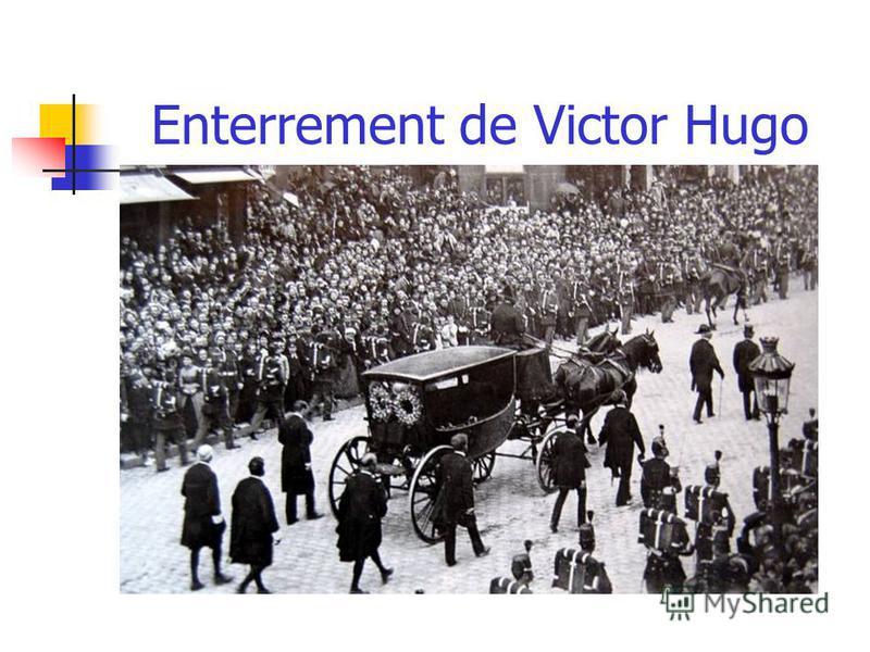 Enterrement de Victor Hugo