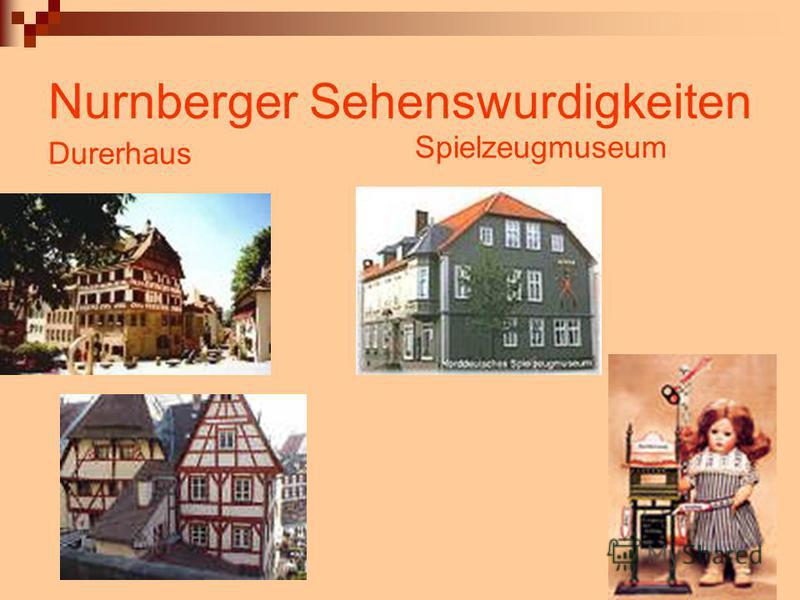 Nurnberger Sehenswurdigkeiten Durerhaus Spielzeugmuseum