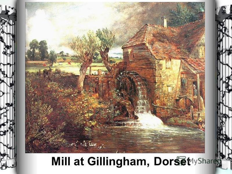 Mill at Gillingham, Dorset