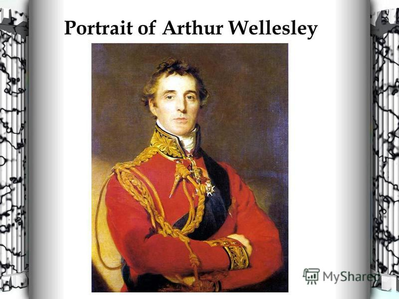 Portrait of Arthur Wellesley