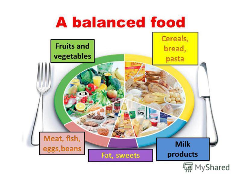 A balanced food