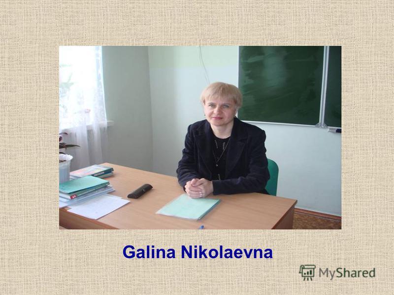 Galina Nikolaevna