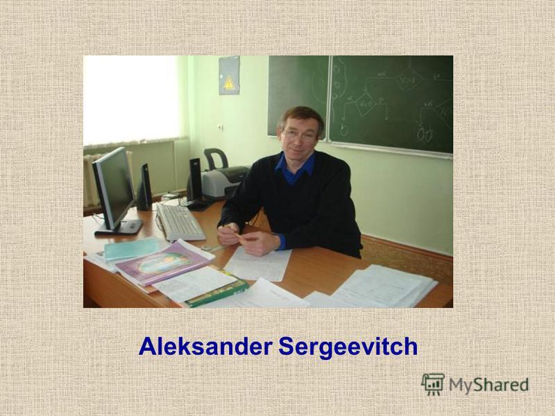 Aleksander Sergeevitch