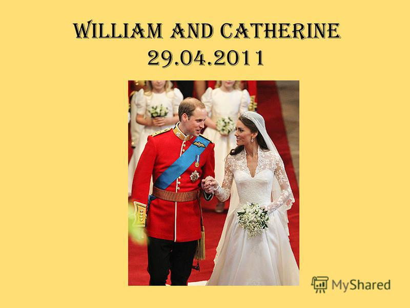 William and Catherine 29.04.2011