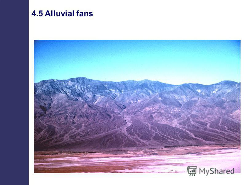 4.5 Alluvial fans