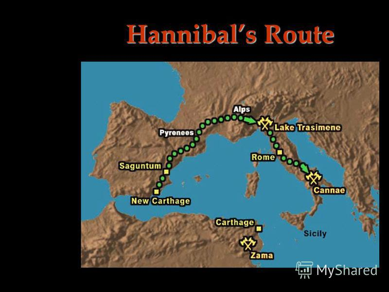 Hannibals Route