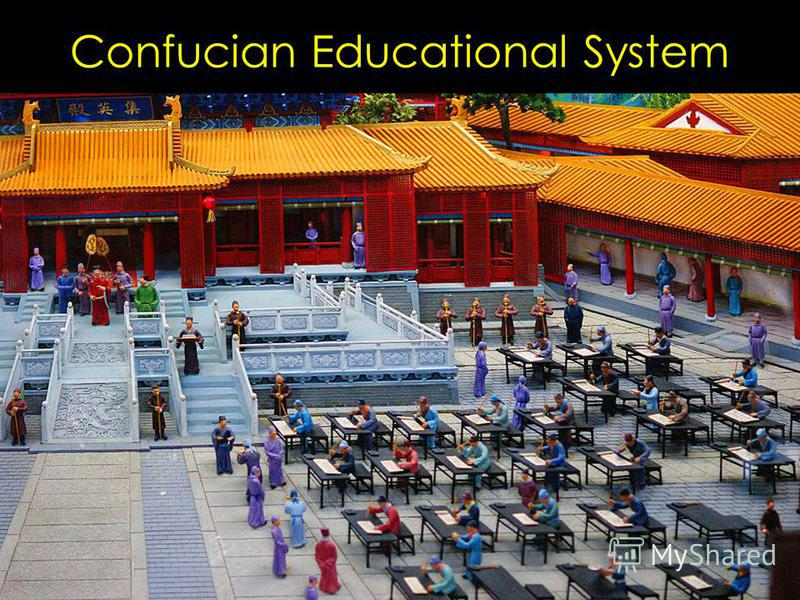 Confucian Educational System Han Wudi establishes an Imperial University in 124 BCE Not a lover of scholarship, but demanded educated class for bureaucracy Adopted Confucianism as official course of study 3000 students by end of Former Han, 30,000 by