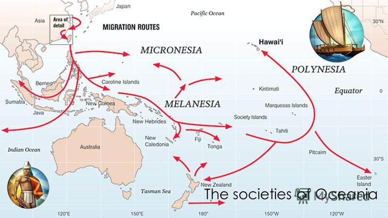 The societies of Oceania