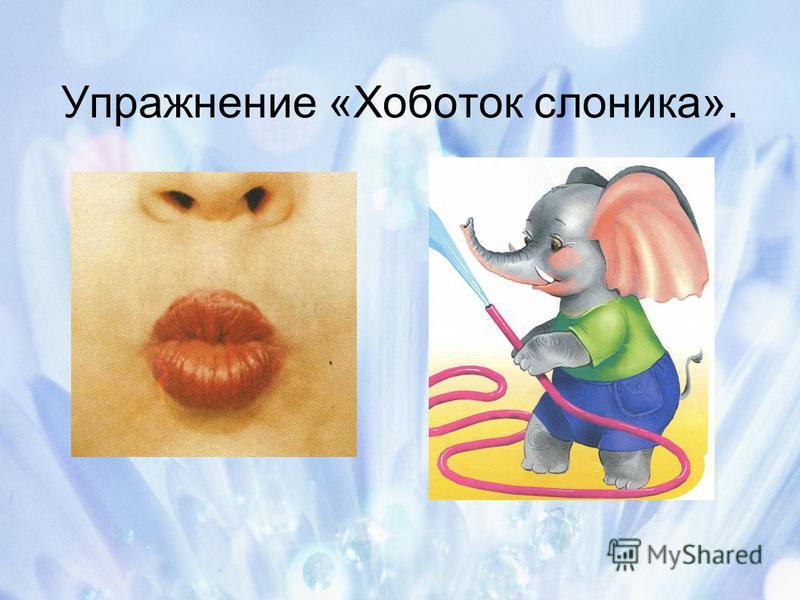 Упражнение «Хоботок слоника».