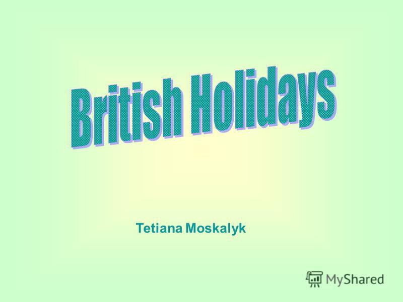 Tetiana Moskalyk
