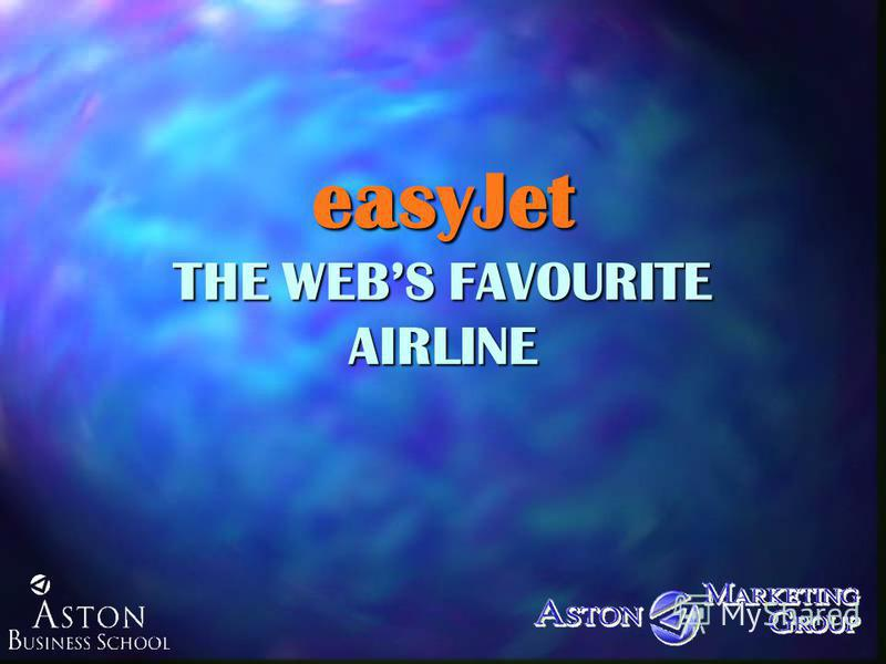 easyJet THE WEBS FAVOURITE AIRLINE
