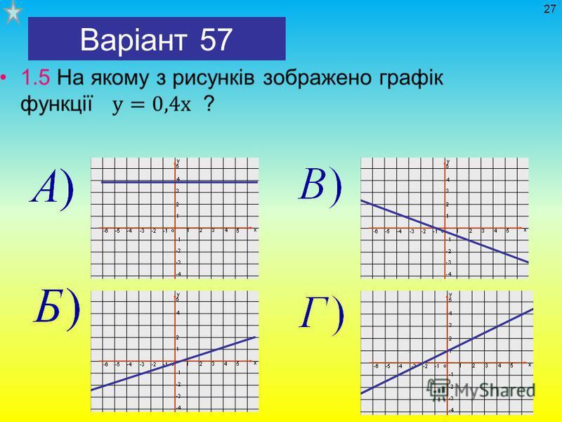 Варіант 57 27