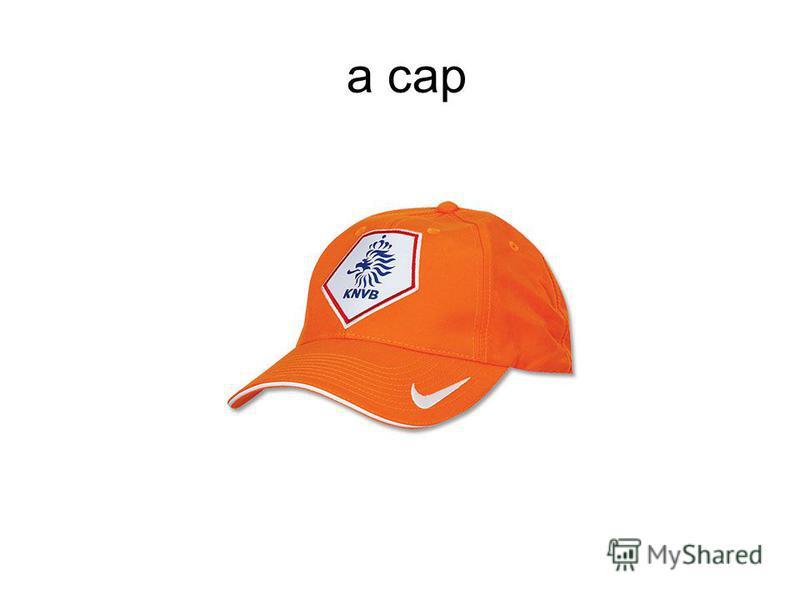 a cap
